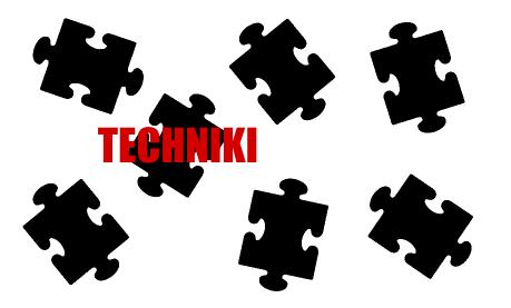 puzle techniki